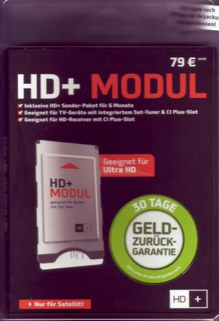 !!HD+ Modul incl. Karte gültig für 6 Monate   NEU & OVP!!!