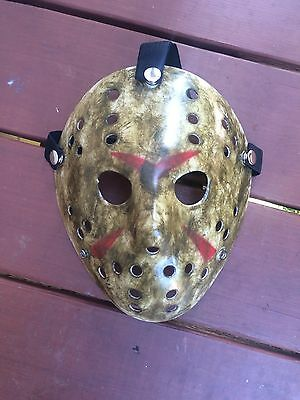 CUSTOM MADE Jason Voorhees FRIDAY THE 13th hockey mask Halloween costumes