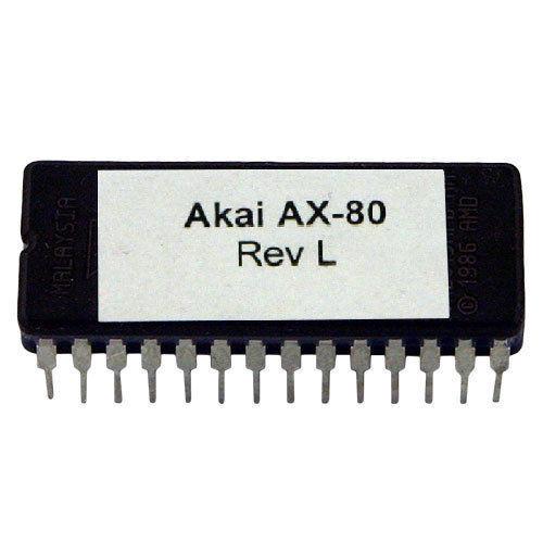 Akai AX-80 Rev-l Mikroprogrammaufstellung OS update EPROM neueste o.s AX80