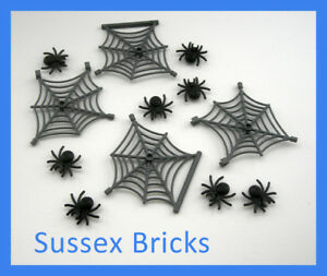 4x Lego Insects Spider Black