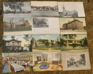 12-Vintage-1906-MA-Oldest-House-in-Orleans-SHADY-NOOK-Crescent-Ave-Postcards