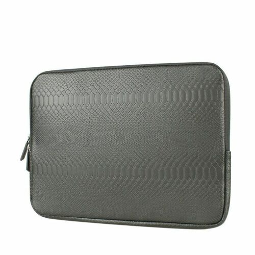 Snake Skin Leather Laptop Sleeve Bag Case Cover For Apple MacBook Air Pro Retina