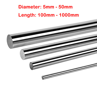 Ochoos Dia 20mm L430mm 3pcs//lot sus400 Stainless Round Rod Cylinder Linear Rail Shaft g6 Standard Precision Straight 3D Printer Part Length: Roughness Type A, Diameter: 20mm