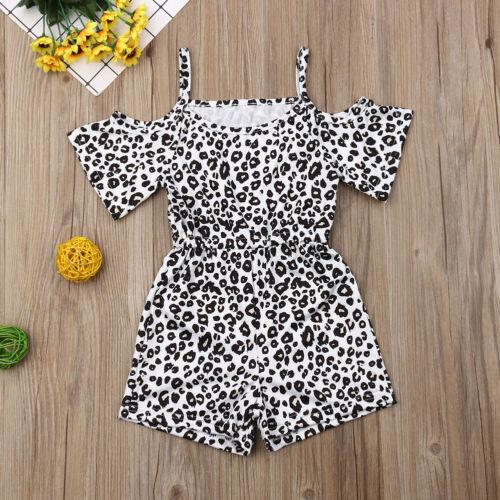 UK Summer 2019 Baby Kids Girls Romper Bodysuit Jumpsuit Outfits Clothes Sunsuit
