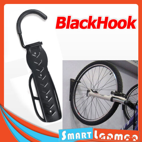 Bike Hanger Hook Wall Mounted Bicycle Storage Rack Stand Holder Black