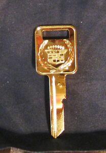 Rare-Cadillac-Gold-Key-039-C-039-Ignition-Fleetwood-Brougham-Eldorado-amp-Seville