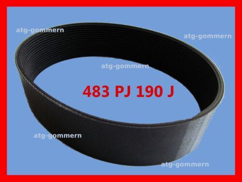 PJ483 Poly-V Riemen Flachriemen Keilrippenriemen PJ 483  190J