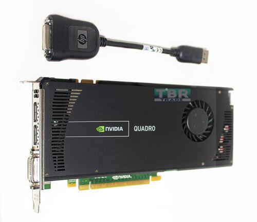 NEW NVIDIA Quadro 4000 2GB PCIe 2.0 x16 GDDR5 Video Graphics Card