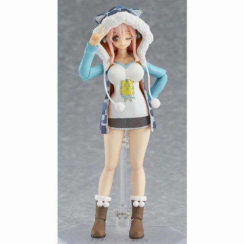 NEW figma 169 Super Sonico    Tiger Hoodie ver. Max Factory from JAPAN F S 043cea
