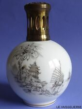 LAMPE BERGER PORCELAINE CAMILLE THARAUD