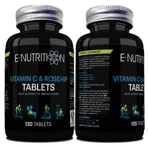 Vitamin-C-und-Konfituere-bioflavanoids-1000mg-Tabletten-vegan-Gelenk-Gesundheit