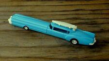 "Vintage 1988 SANRIO Blue Car with Surfboard NOVELTY PEN 5-1/8"" Long JAPAN"
