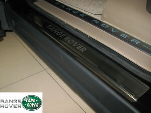 Range-Rover-SPORT-2005-2009-Stainless-Steel-Door-Sill-Covers-Scuff-Protectors