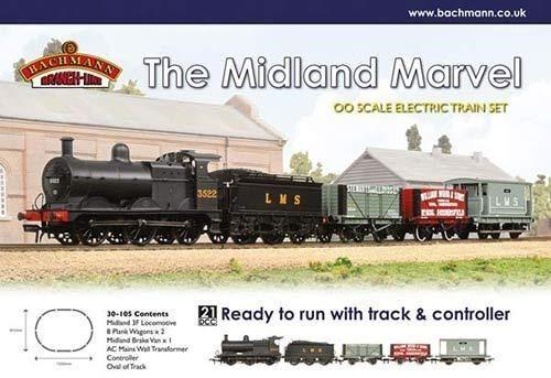 Bachmann Midland Marvel Trainset 30-105 Brand Nuovo
