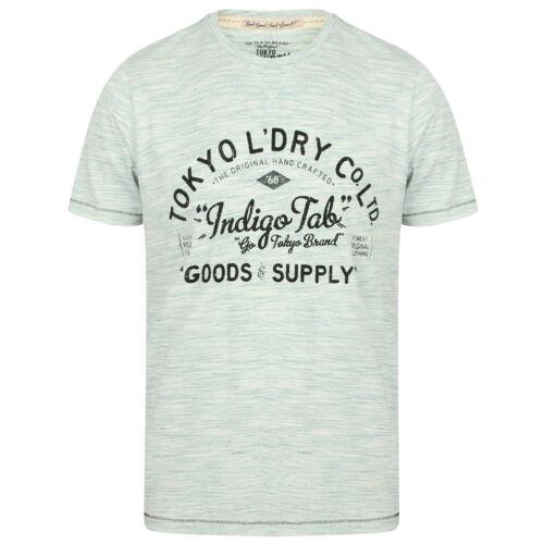 Tokyo Laundry Westby Zella Zac Homme Col Ras-De-Cou Basic Shirt Mode T-Shirt Top