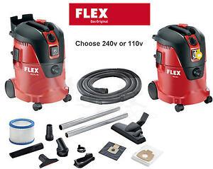 Image Is Loading FLEX 25Ltr 110v 240v Wet Dry Hoover Vacuum