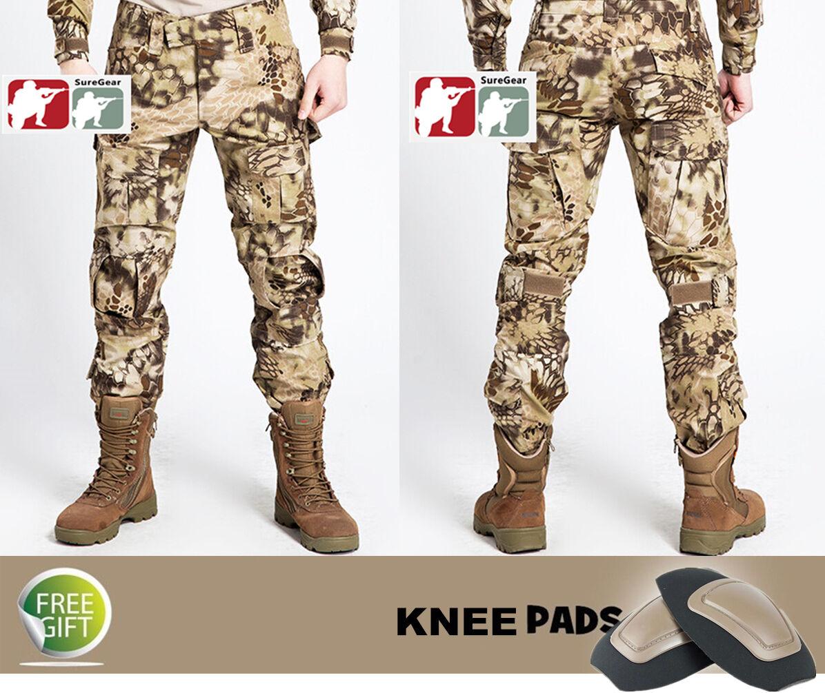 HIGHLANDER Gen3  G3 Combat PANTS Military Tactical US ARMY Hunting Kryptek USMC  70% off