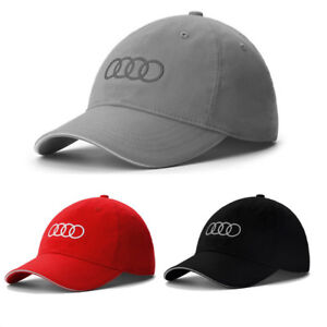 ea676dfb8e Audi Baseball Cap Stylish Hat Adults Golf Embroidery Snapback Sport ...