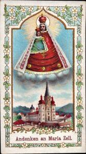 Maria-Celula-Wallfahrt-Cuadro-Santos-Amria-Austria-Koloriert-M-5948