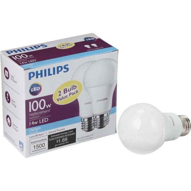 Philips Led Bulb 8 Pack 100 Watt