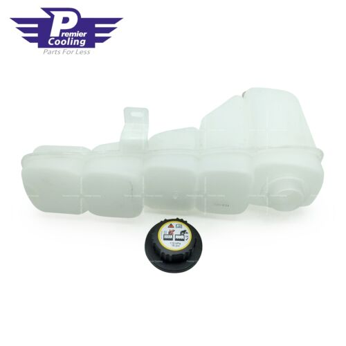 Coolant Radiator Reservoir Tank /& Cap for 99-05 Ford F-250 F-350 F-450 Excursion