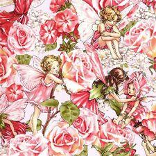Michael Miller Petite Sweet Garden Rose Fairy Fabric
