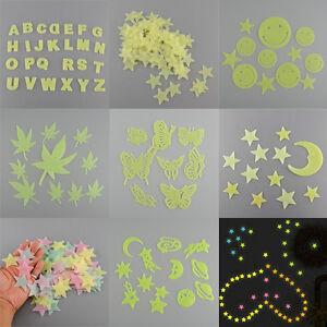 Einzigartige-Dark-Glow-Kunststoff-Wandaufkleber-Zimmer-Decke-Decal-Decor-Vogu