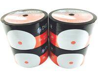 Hp Dvd-r 16x 4.7gb 120min Inkjet White Hub Printable 200pcs Pack Plastic Wrap