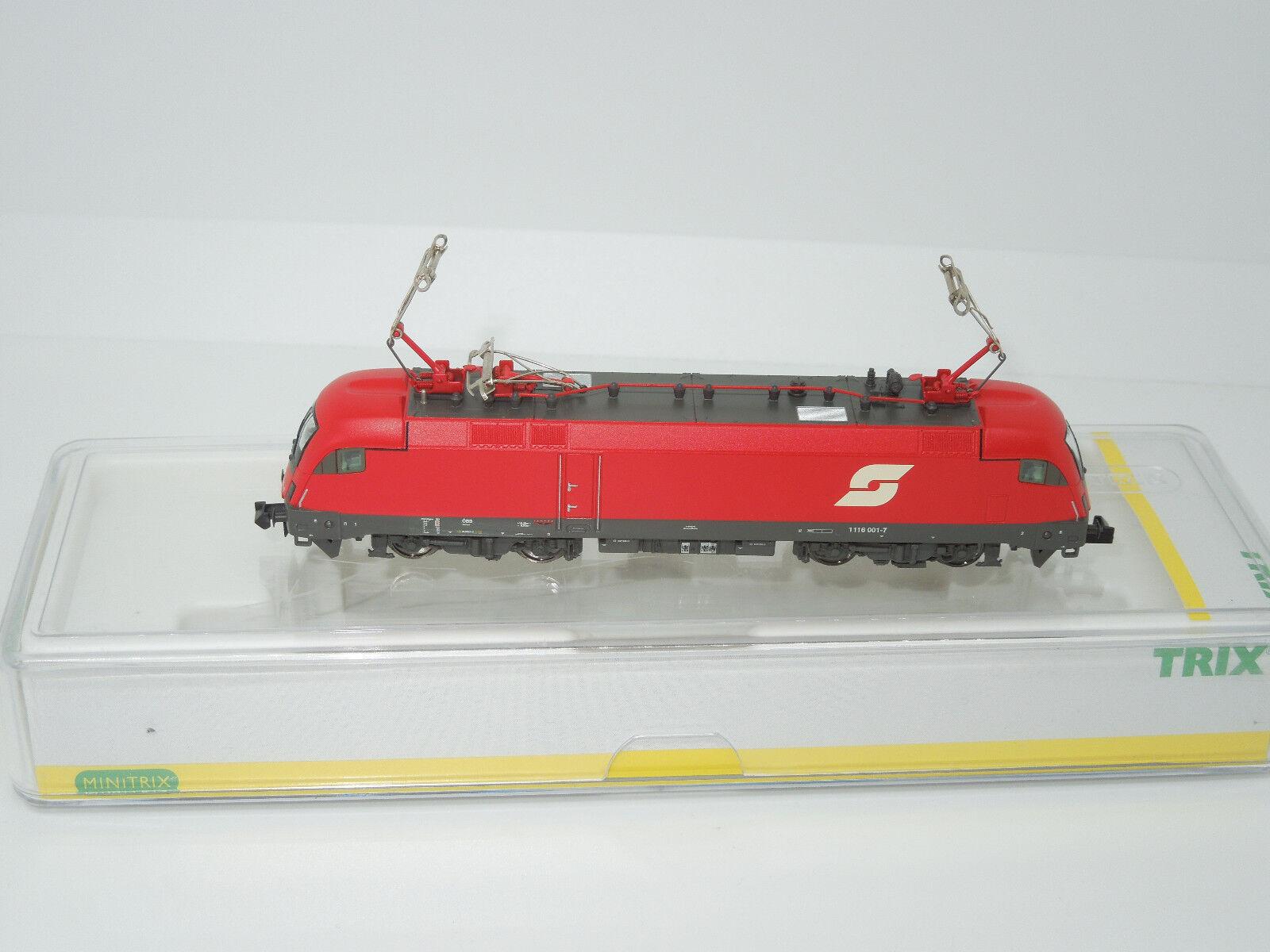 Minitrix Spur N 12730 E-Lok 1116 delle OBB