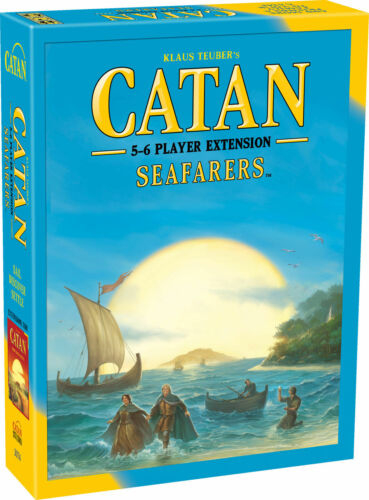 New Catan 5-6 Player Extension Seafarers 5A