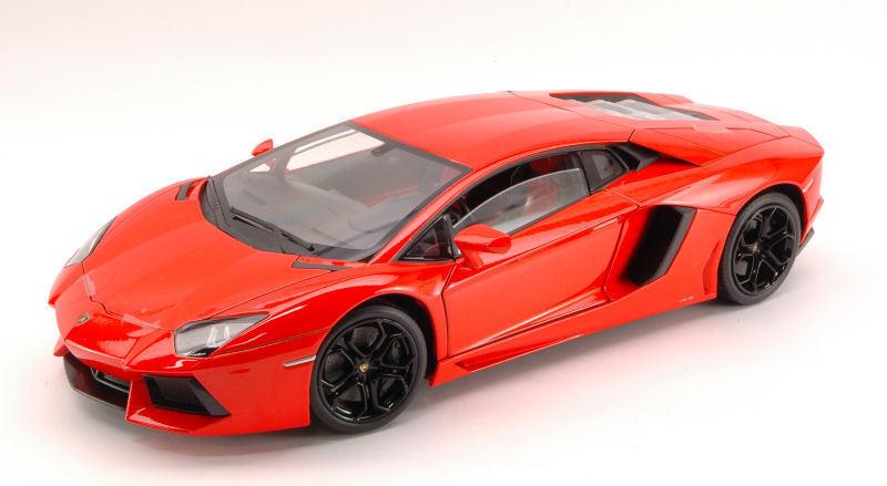 Lamborghini Aventador LP700 2011 naranja Argos 1 18 4473 WELLY