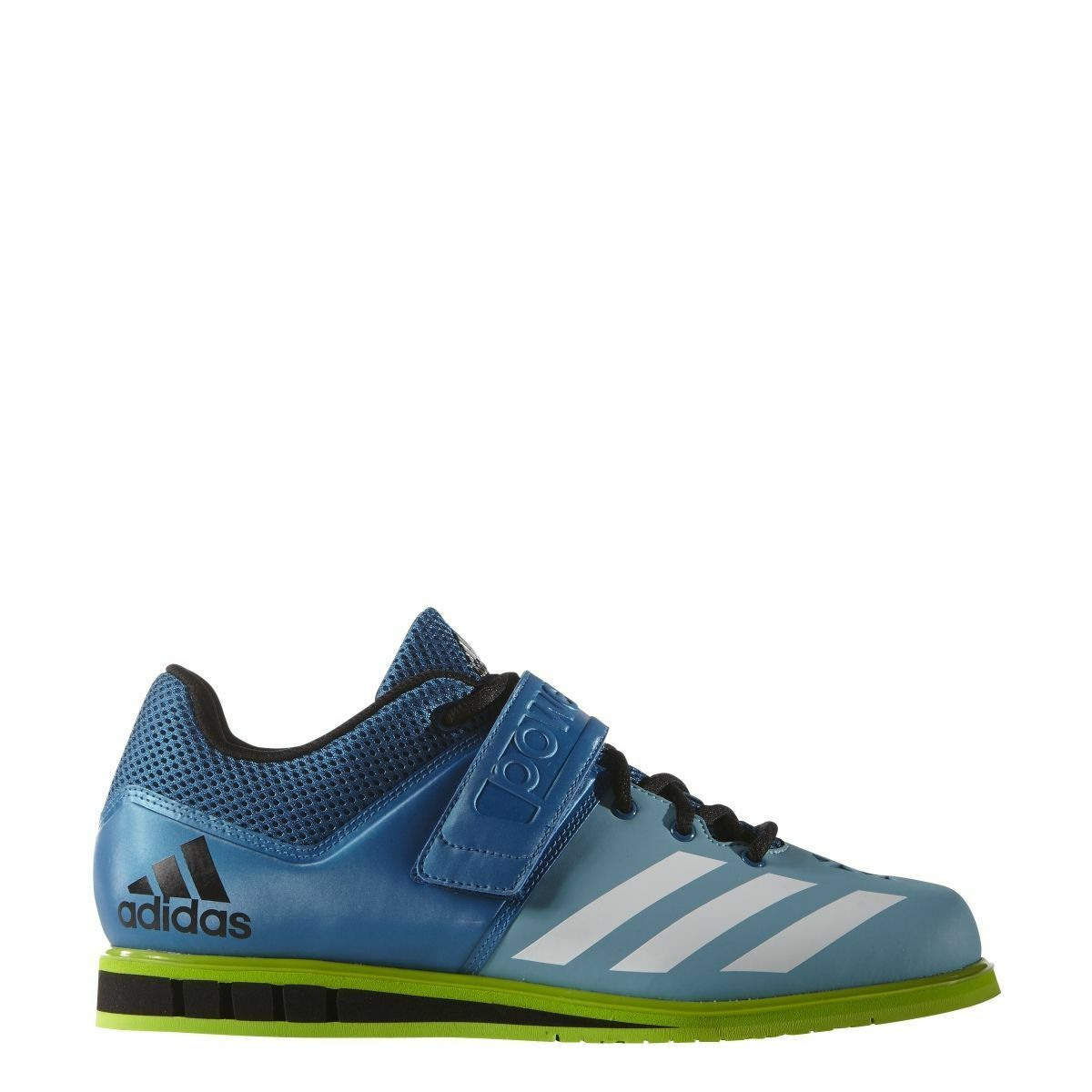 Adidas Powerlift 3 Mens bluee Weightlifting Athletic Training shoes AQ3331 Sz 16