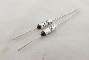 2pcs Microtemp Thermal Fuse 184°C 184 Degree TF Cutoff Cut-off 10A AC 250V