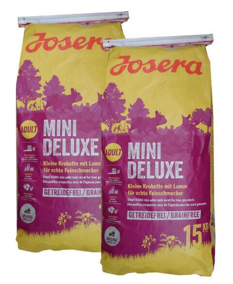 2x15kg Josera Mini Deluxe MiniDeluxe Hundefutter