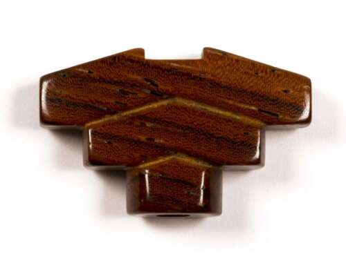 fits Hipshot 6 Grover Tone Ninja Cocobolo wood Imperial Tuner Buttons