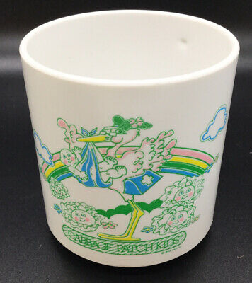 Vintage 1983 8 count Cabbage Patch Dolls Styofoam Party Cups