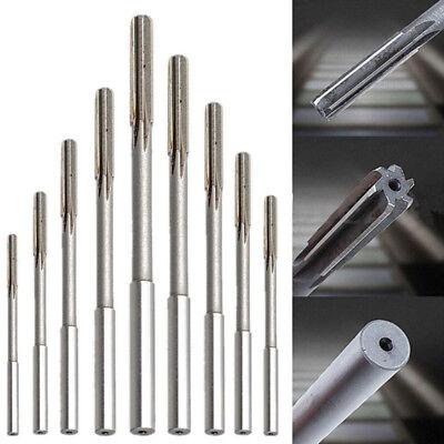 9Pcs//Set 3mm-16mm Straight Shank H8 HSS Reamer Chucking Engineering Cutter