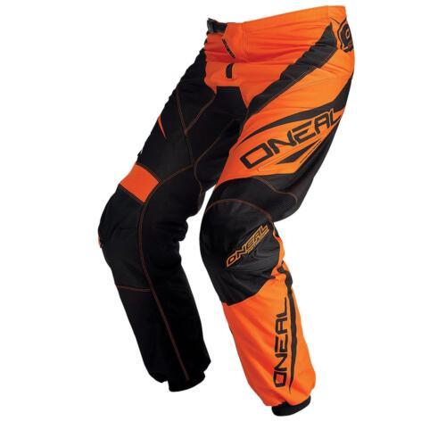 ONEAL Elemento Pantaloni RACEWEAR ORANGE MOTO CROSS MX DH ENDURO MOTO MTB BICICLETTA