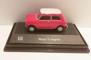 Mini-Cooper-Diecast-Car-Red-Scale-1-72-Cararama-Oxford-NEW
