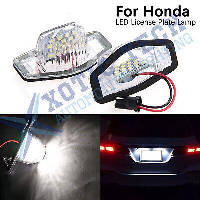2 Pieces Car White 18LED License Plate Lamp Light for Hyundai Sonata i40 i45
