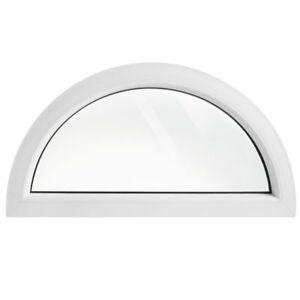 Fenêtre Demi Cercle Fixe 100 X 50 110 X 55 120 X 60 130 X 65