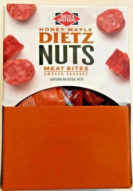Dietz & Watson Honey Maple Nuts  3 lb Box 20 2oz Bags