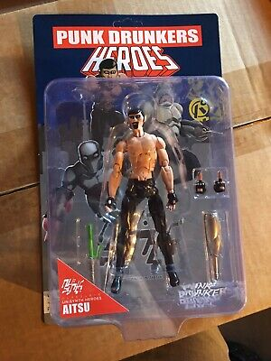 DCON 1000TOYS PUNK DRUNKERS HEROES AITSU NEW UN SYNTH HEROES SOLD OUT IN HAND!