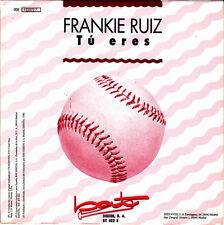 FRANKIE RUIZ-TÚ ERES SINGLE VINILO 1990 PROMOCIONAL SPAIN EXCELLENT COVER