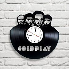 Coldplay [ 2 ] vinyl record clock art Shipping after 2 of March !