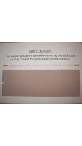 """3.5/"""" Premium blanc fait sur mesure Vertical Blind Remplacement Lames 89 Mm Large"""