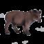 .Mojo BRAZILIAN TAPIR Wild animal play model figure toys plastic forest jungle