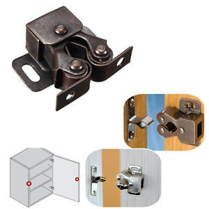 1Pcs-Double-Ball-Roller-Catches-Cupboard-Cabinet-Door-Latch-Hardware-Copper