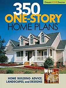 350 one story home plans paperback hanley wood