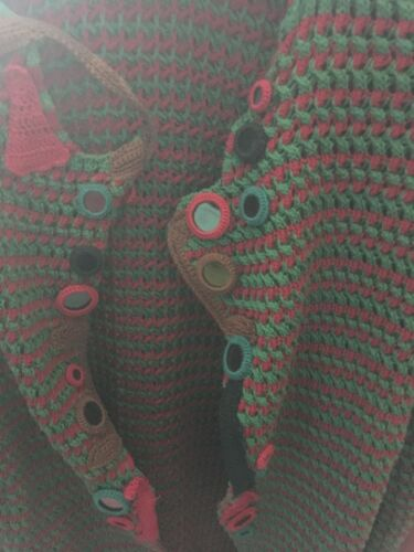 Prada Taglia Roso Donna Larga 40 Maglia Stupendo Cappotto Verde Estivo 4rFq4Rv